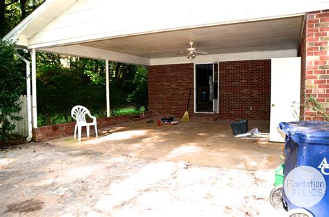 Turning A Carport Into A Garage by Turning A Carport Into Bedrooms Plantation Relics