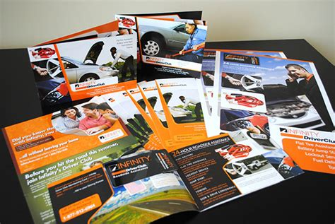 Infinity Auto Roadside Assistance by Driverclub Roadside Assistance Marketing Kit On Behance