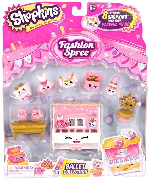Shopkins Fashion Boutique 1 shopkins season 3 figure fashion spree ballet collection www toysonfire ca