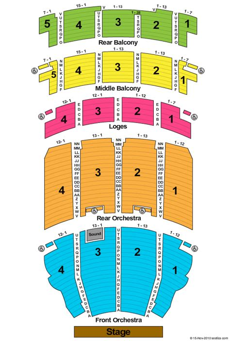 san diego civic theater seating chart civic theater seating j ole
