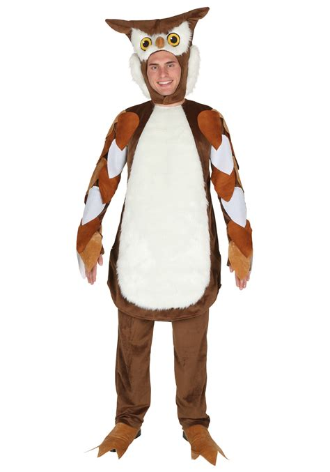 easy costumes for adults owl costume