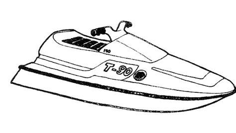 coloring pages of jet ski jet ski seadoo 7 transportation printable coloring