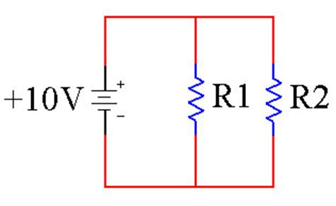 current through two parallel resistors efundies electronics