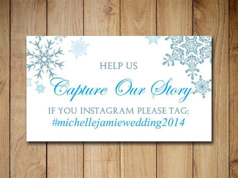 Wedding Hashtag Card Template by Wedding Instagram Place Cards Template Wedding Hashtag