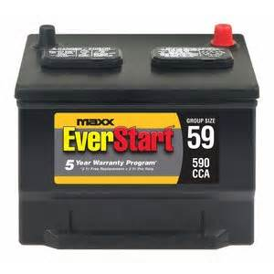 Car Battery Price Walmart Everstart Maxx 59 Lead Acid Automotive Battery Walmart