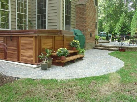 Patio Deck Designs Tub 71 Best Images About Tub On Tub Deck