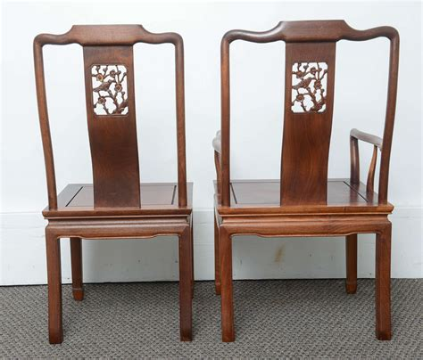 set   vintage dining chairs   asian antique