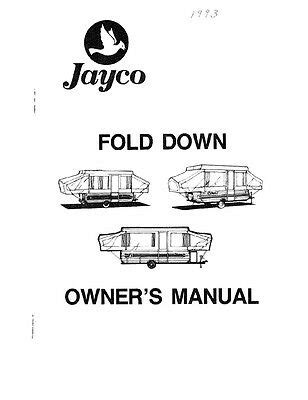 Jayco Eagle Owner S Manual 2008 5th Wheel Toy Hauler