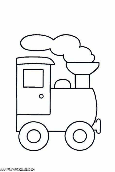 imagenes infantiles para colorear de trenes dibujos para colorear de trenes 001