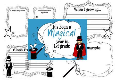 new year activities for fourth grade end of the year class memory books second third