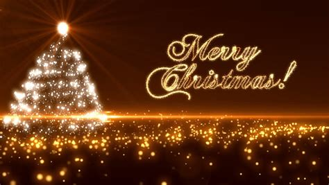 loopable animated christmas tree background stock footage video  royalty