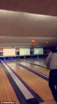 Bowling Ceiling hilarious shows throw bowling into the roof and bring ceiling daily mail