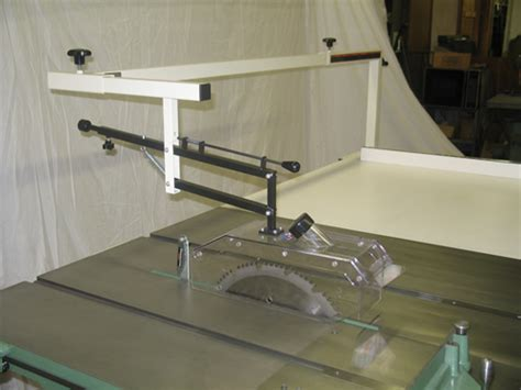 table saw dust collection guard arm table saw blade guard dust collection