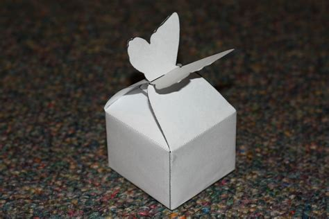 Butterfly Box Research On Packaging Butterfly Box Template
