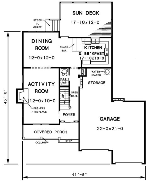 The House Designers House Plans by The Walton 3428 And 2 Baths The House Designers