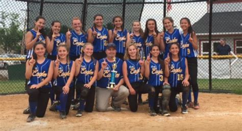school softball team east hanover middle school softball heading to mct finals