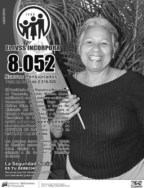 Ultimo Listado De Los Pensionados Del Seguro Social Mejor Conjunto | misi 243 n amor mayor nuevo listado de pensionados del