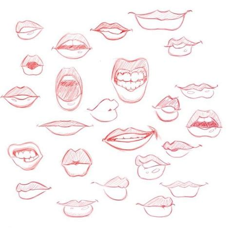 Drawing Mouths by Drawing Related Keywords Suggestions Drawing
