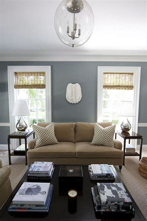 Blue And Brown Color Scheme For Living Room by Living Room Painting Ideas