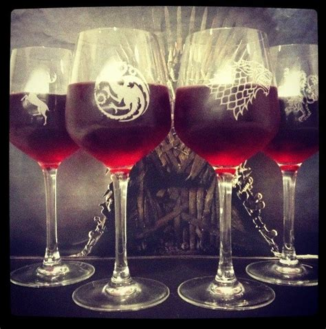 game of thrones wine glasses game of thrones wine glasses stuff pinterest