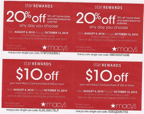 macy s coupons can be your best way