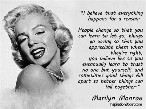 everything happens for a reason and other lies i ve loved books marilyn quotes spectacle is surveillance