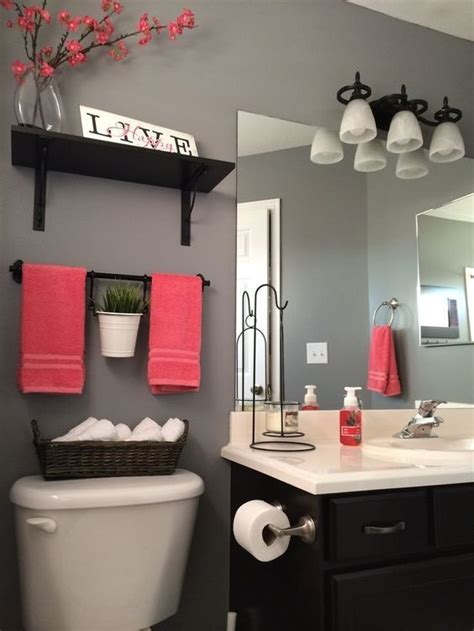 pink and black bathroom decor bathroom home designing decorating and remodeling ideas pink