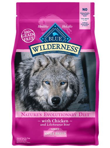 food for small dogs blue wilderness 174 food chicken recipe