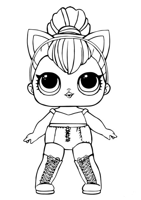 lol doll coloring sheets kitty queen unicorn coloring pages cool coloring pages