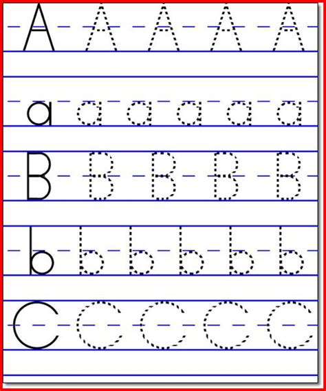 abc pattern worksheets for kindergarten all worksheets 187 kindergarten abc worksheets printable