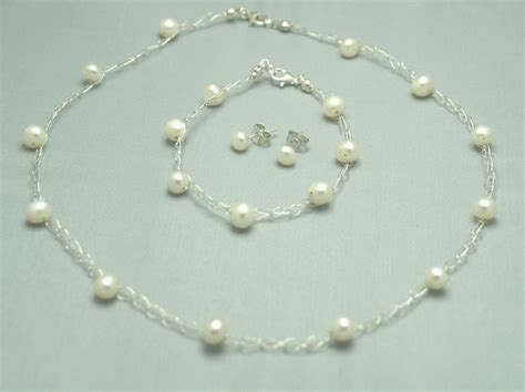 brautschmuck set perlen brautschmuck set perlen ivory teure f 252 r sie foto