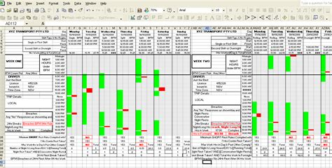 Sams Fatigue Calculator Simple Planning And Checking Of Truck Driver S Work Hours Fatigue Management Policy Template