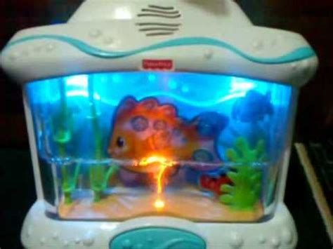 Baby Crib Fish Tank by Fisher Price Wonders Musical Aquarium Crib