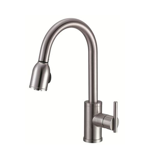 danze parma kitchen faucet danze d457058ss parma single handle pull down kitchen