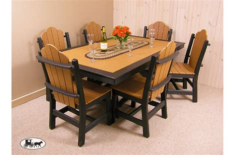 amish made polywood furniture the wood carte new york