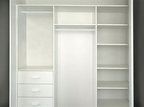 Space Living Interior Standard Wardrobe Internals Regency