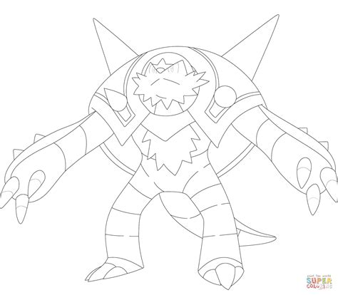pokedecember 10 chesnaught by pyrasterran on deviantart 89 pokemon coloring pages chesnaught best baby
