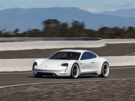 porsche mission e porsche reveals mission e photos details
