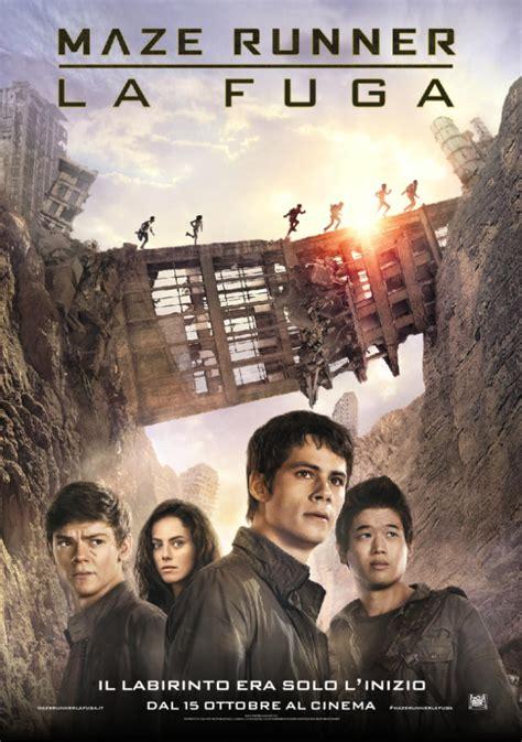 maze runner 2 film quando esce maze runner la fuga ecco in esclusiva il nuovo poster