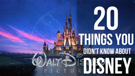 20 things you didn t know about your favorite classic hollywood 20 things you didn t know about disney ealuxe com
