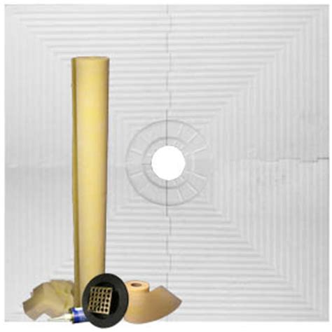 Tile Shower Kit by Pro Advanced 48x48 Tile Shower Kit Better Complete Shower