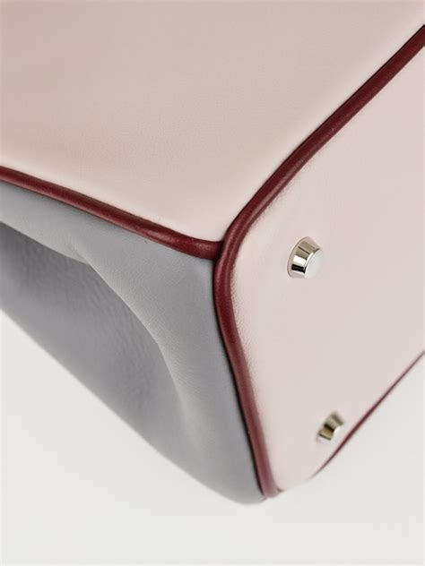 New Hermes Carry On Smooth Leather Free Hermes Purse Chains Hardware G christian tricolor smooth calfskin leather diorissimo