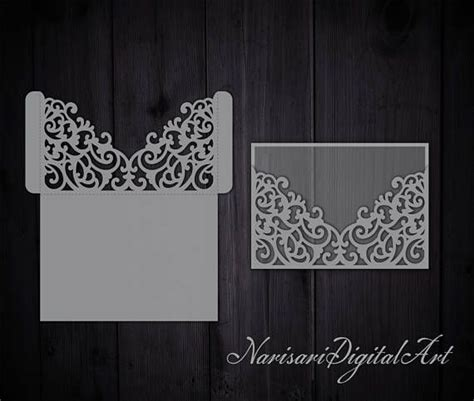Free Wedding Gate Fold Card Template Silhouette by Best 25 Pocket Envelopes Ideas On Paper