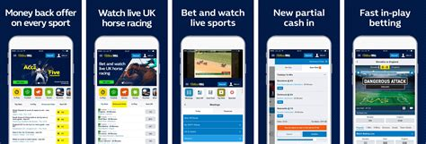william hill mobile william hill app review sports betting app in test