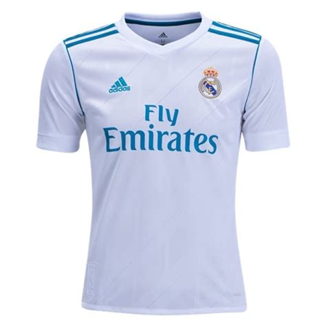 Jersey Real Madrid New 20172018 adidas real madrid youth home soccer jersey 2017 2018 soccer replica jerseys 1soccerstore