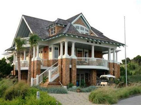 coastal house plans on pilings beach house plans with porches beach house plans on