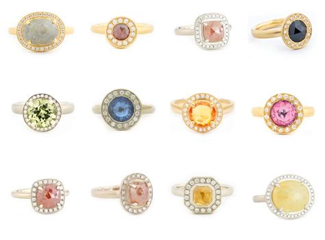 trend colored engagement rings 2luxury2