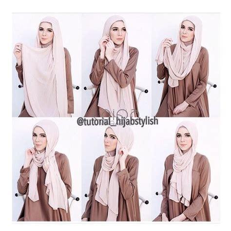 tutorial hijab pashmina simple dan praktis kumpulan tutorial hijab simple dan praktis paling cantik