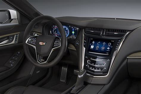 Cadillac Cts V Interior by New Cadillac Cts V Rockets After The Bmw M5 With 640hp