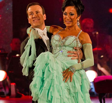 rag doll zena dell lowe nancy dell olio saved for a second time on strictly as